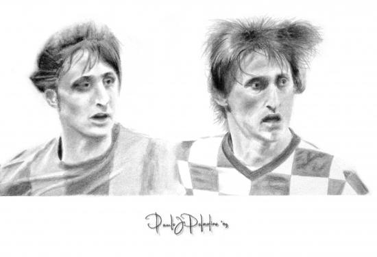 Luka Modric, Johan Cruyff por Paladino